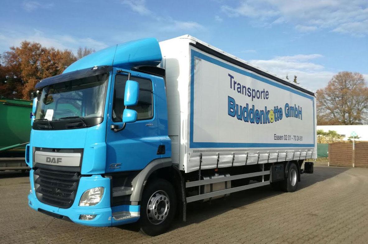 LKW Transporte Buddenkotte