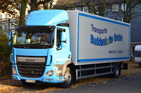 Lastwagen Transporte Buddenkotte